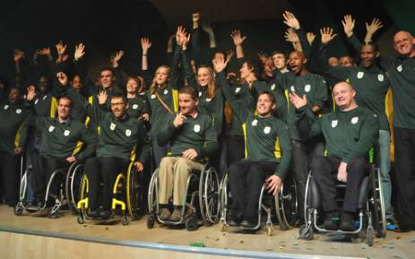 Announcement of Team South Afrca for 2012 Paralympics.Picture: Wessel Oosthuizen/Sascoc.