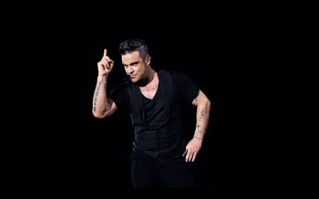 British singer Robbie Williams. Picture: Pool/AFP.