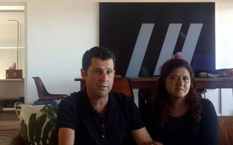 Franziska Blöchliger's parents spoke to the media on 8 March 2016 after her murder. Picture: Ilze-Marie Meintjies/EWN.