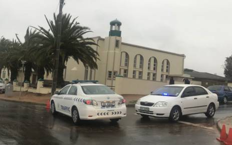 The mosque in Malmesbury where three people were killed on 14 June 2018. Picture: Shamiela Fisher/EWN