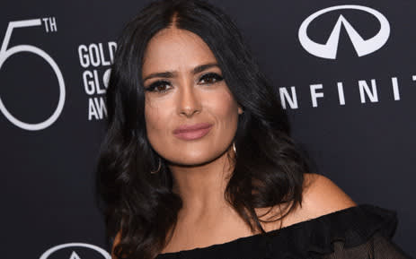 This file photo taken on 15 November 2017 shows actress Salma Hayek attending the Hollywood Foreign Press Association (HFPA) and InStyle celebration of the 75th Annual Golden Globe Awards season in West Hollywood. Picture: AFP.
