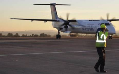 An South African (SA) Express plane. Picture: Twitter/@flySAExpress