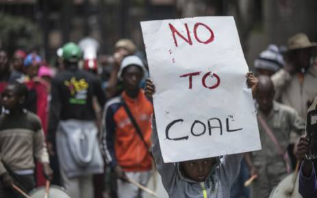 FILE: People from different climate justice movements gather in Johannesburg in November 2015 to protest against rising global temperatures and the threat to the livelihood of the poor. Picture: AFP.