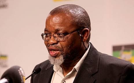 ANC Secretary-General Gwede Mantashe. Picture: EWN.