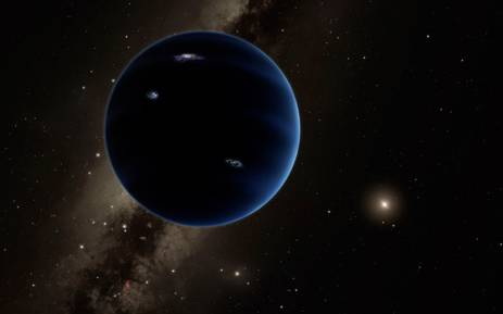 This artist's concept illustration received 20 January 20, 2016 courtesy of Caltech/Robert Hurt shows a distant view from Planet Nine back towards the sun. Picture: AFP/Caltech/Robert Hurt.