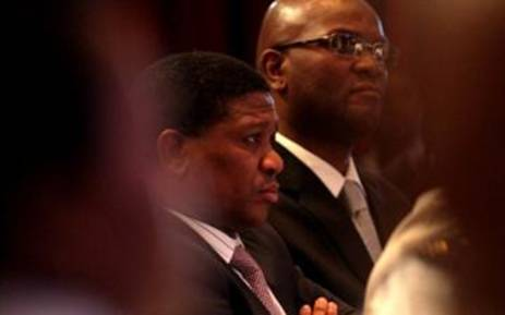 Sports and Recreation Minister Fikile Mbalula