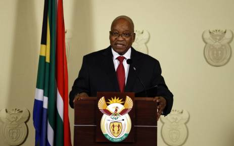 President Jacob Zuma. Picture: AFP.