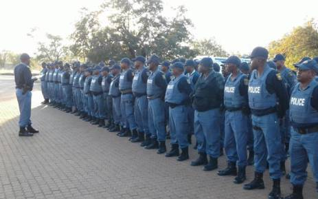 FILE: SA Police Service members. Picture: SAPS.