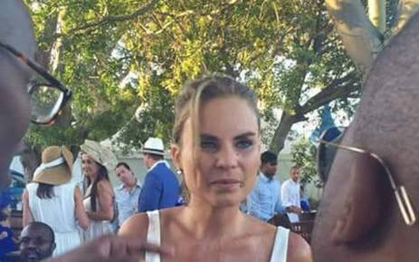 Nicole de Klerk allegedly called guests the 'k' word after she was apparently refused a chair. Picture: Siyabonga Sesant/EWN.
