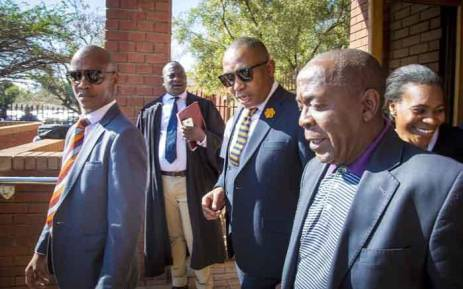 Mduduzi Manana leaves Randburg Magistrates Court on 13 September 2017.  Picture: Thomas Holder/EWN.