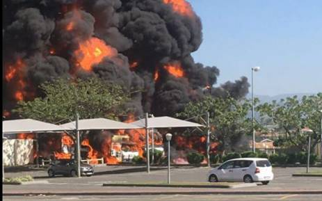 A petrol tanker exploded at the Shell Ultra City on the N2 near the Mvoti toll plaza on 27 March 2016. Picture: SAPS.