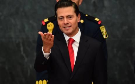 Mexico's President Enrique Pena Nieto. Picture: AFP