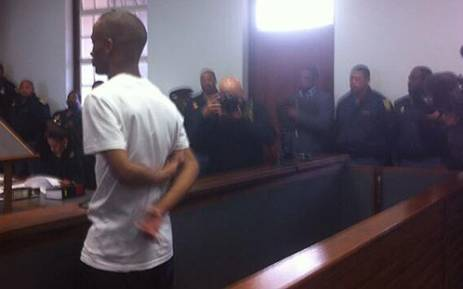 Rape and murder accused Johannes Kana appears in the dock on 9 July 2013. Picture: Chanel September/EWN