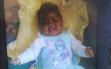 FILE: Seven-month-old Inganathi was allegedly killed by her mother's ex-boyfriend. Picture: Monique Mortlock/EWN.