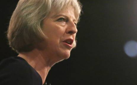 British Prime Minister Theresa May. Picture: Supplied