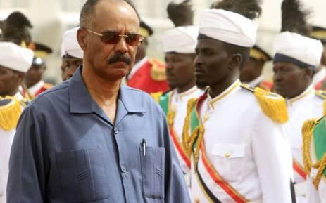 FILE: Eritrean president Isaias Afwerki. Picture: AFP