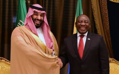Energy Minister Jeff Radebe has welcomed the commitment by the Saudi Arabian government to invest more than R130 billion in the South African economy. The undertaking was made on Thursday while President Cyril Ramaphosa (right) is in Jeddah on a state visit. Picture: Qaanitah Hunter/EWN