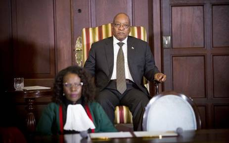 Image result for President Zuma swears-in new cabinet