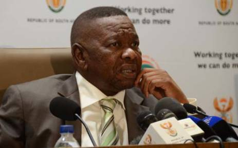 FILE: Minister of Higher Education and Training Blade Nzimande. Picture: Christa Eybers/EWN.