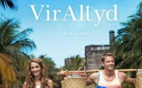 The film poster for box office hit 'Vir Altyd'. Picture: MS Publicity