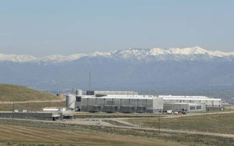 Security fences surround the National Security Agency's (NSA) Utah data collection center in Bluffdale, Utah near Salt Lake City on April 12, 2017. The 1.5 billion USD data center, thought to be the largest in the world, with a reported size to be on the order of an exabytes or larger, supports the Comprehensive National Cybersecurity Initiative (CNIC) of the United States Government. Picture: AFP.