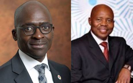 New Finance Minister Malusi Gigaba (R) and Deputy Finance Minister  Sfiso Buthelezi (L). Pictures: Supplied.