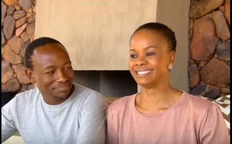YouTube screengrab of Chris and Tsholo Matshaba. Pitcure: YouTube