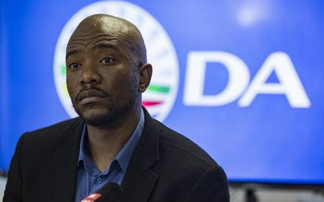 Democratic Alliance leader Mmusi Maimane during a press briefing in Johannesburg on 21 May 2018. Picture: Sethembiso Zulu/EW