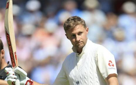 England captain Joe Root fell for 190 before a sparkling 50 from Stuart Broad lifted England to 458 all out on the second day of the first Test against South Africa on 7 July 2017. Picture: Twitter/@ICC