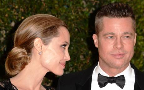 Brad Pitt and Angelina Jolie. Picture: AFP.