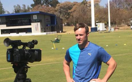 AB de Villiers confirmed that he will be stepping down as the Proteas' One Day International (ODI) captain on 23 August 2017. Picture: Twitter/@ABdeVilliers17