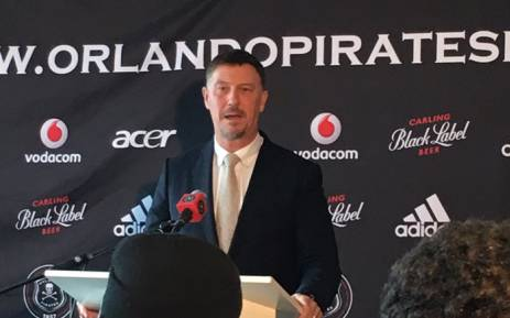 Former Orlando Pirates coach Kjell Jonevret. Picture: @Lenn_Moleko/Twitter