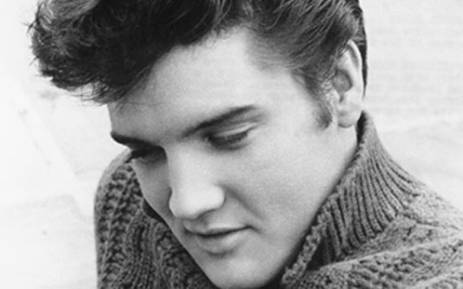 The King of Rock, Elvis Presley. Picture: Elvis.com.