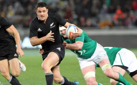 All Blacks and Crusaders rugby player, Dan Carter. Picture: AFP