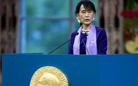 FILE: Aung San Suu Kyi. Picture: AFP.