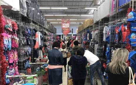 People queue during Black Friday sales at Checkers on 24 November 2017. Picture: Christa Eybers/EWN