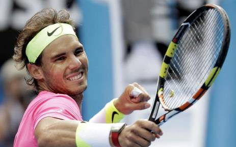 Spanish professional tennis player Rafael Nadal. Picture: Twitter @RafaNadalFans.