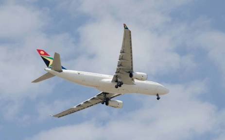 South African Airways plane. Picture: Facebook.