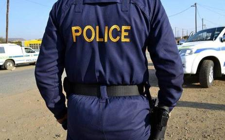 A police officer on duty. Picture: SAPS