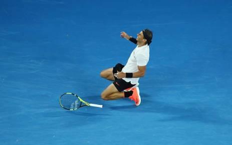 FILE: Rafa Nadal. Picture: Twitter/@AustralianOpen.