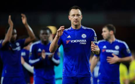 FILE: Chelsea defender John Terry. Picture: Chelsea FC Facebook page.