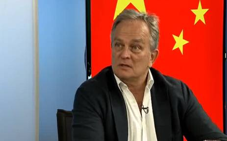 A screengrab of new CEO of the South African Post Office, Mark Barnes. Picture: BDTV.