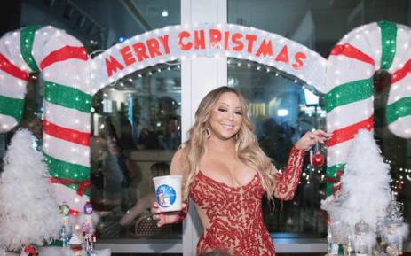 This file photo shows global icon Mariah Carey at the Mariah Carey Christmas Factory during the grand opening of Sugar Factory American Brasserie on 6 September 2017 in Bellevue, Washington. Picture: AFP.