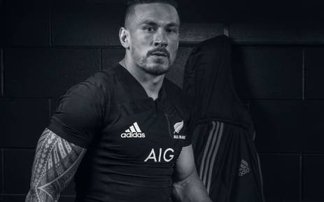 New Zealand's Sonny Bill Williams. Picture: Twitter/@AllBlacks.