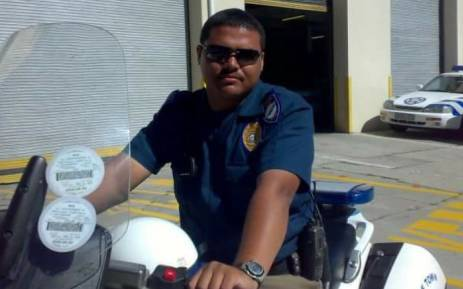 Traffic officer Mogamat Faried Galant was killed when a taxi driver allegedly lost control of his vehicle and collided with his car on 8 March 2016. Picture: Lauren Isaacs/EWN.