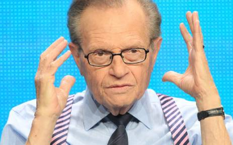 Larry King. Picture: AFP