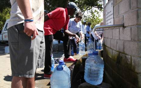 Ct Water Crisis Sandf Saps To Provide Security At Water