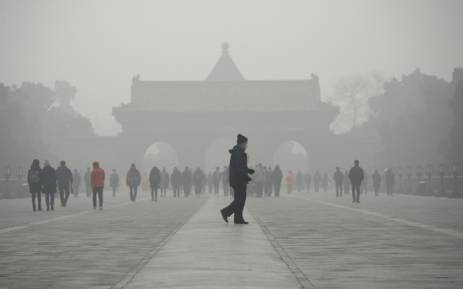 Image result for China's capital issues first major smog alert of winter