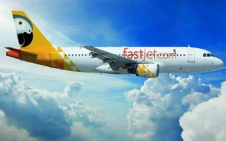 UK based airline Fastjet. Picture: AFP