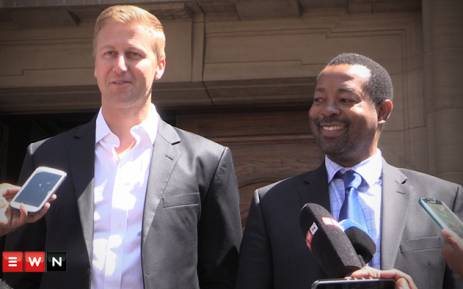 Gareth Cliff (left) has won an urgent application to have him reinstated as an 'Idols' judge. Picture: Kgothatso Mogale/EWN.